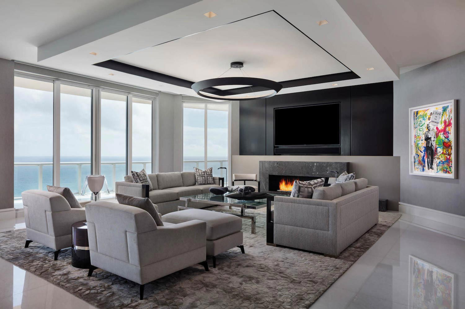 West Palm Beach Luxury Penthouse By Willoughby Construction Caandesign Architecture And Home