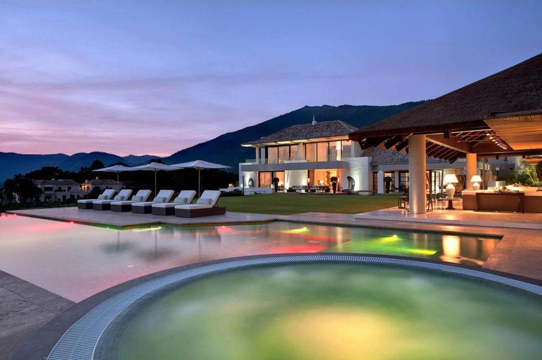 Zagaleta villa designed by Hill House Interiors