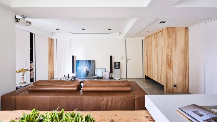 Interior design derived from the complexity of human coexistence among modern world