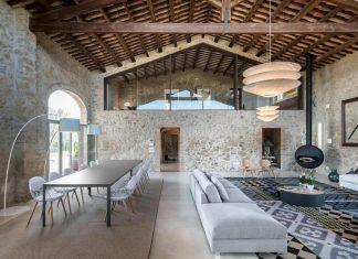Beautiful farmhouse refurbishment in Girona designed by Gloria Duran Torrellas
