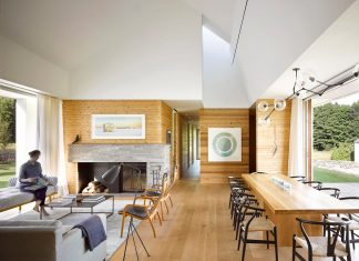 Compass House designed as a weekend home for a family