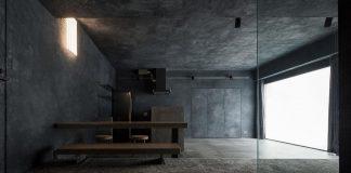 Concrete apartment designed by Hiroyuki Ogawa Architects in Tokyo