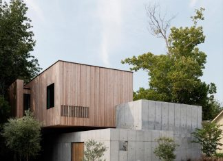 The Concrete Box house by Robertson Design: a carefully choreographed entry sequence, material clarity, and a sculptural presence