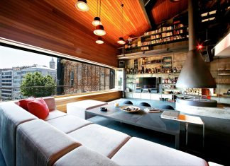Contemporary open space Karakoy Loft by Ofist in Istanbul