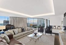 Elegant North Sydney penthouse has streamlined space and sweeping city views