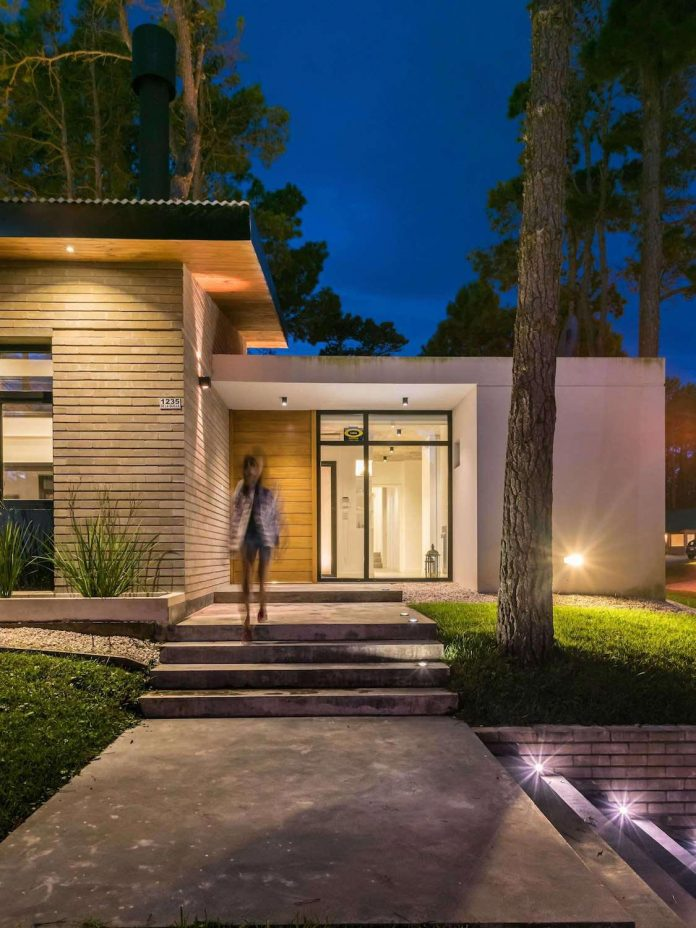 First Eighth Contemporary Summer Home Located In A
