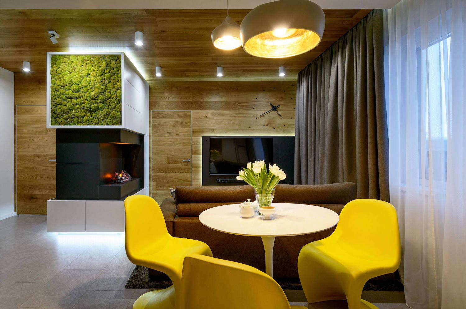 Fresh And Contemporary One Bedroom Quite Small Apartment Designed By Art Ugol Caandesign Architecture And Home Design Blog
