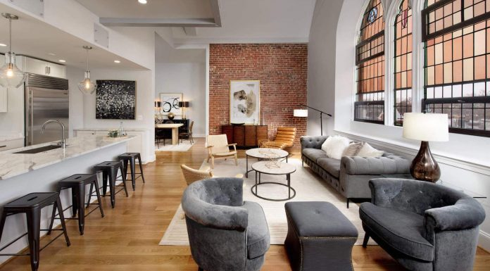 Gothic Revival Church renovated and transformed into 30 unique residential condominiums