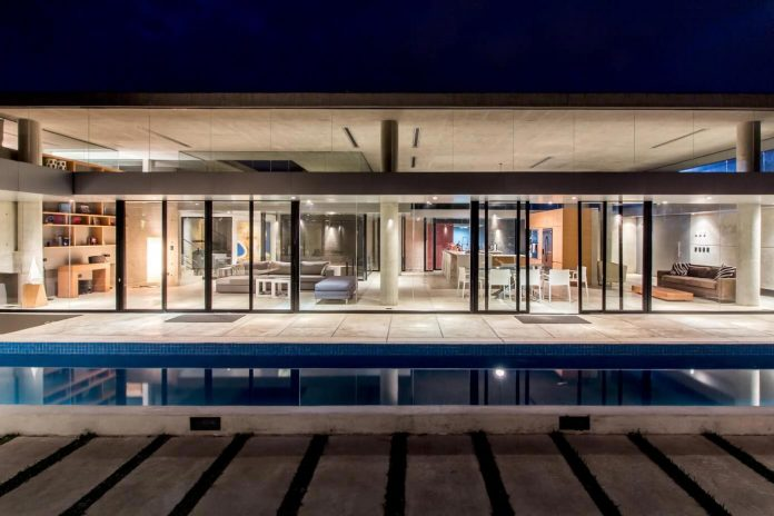 Guaparo House By NMD Nomadas A Contemporary Concrete And