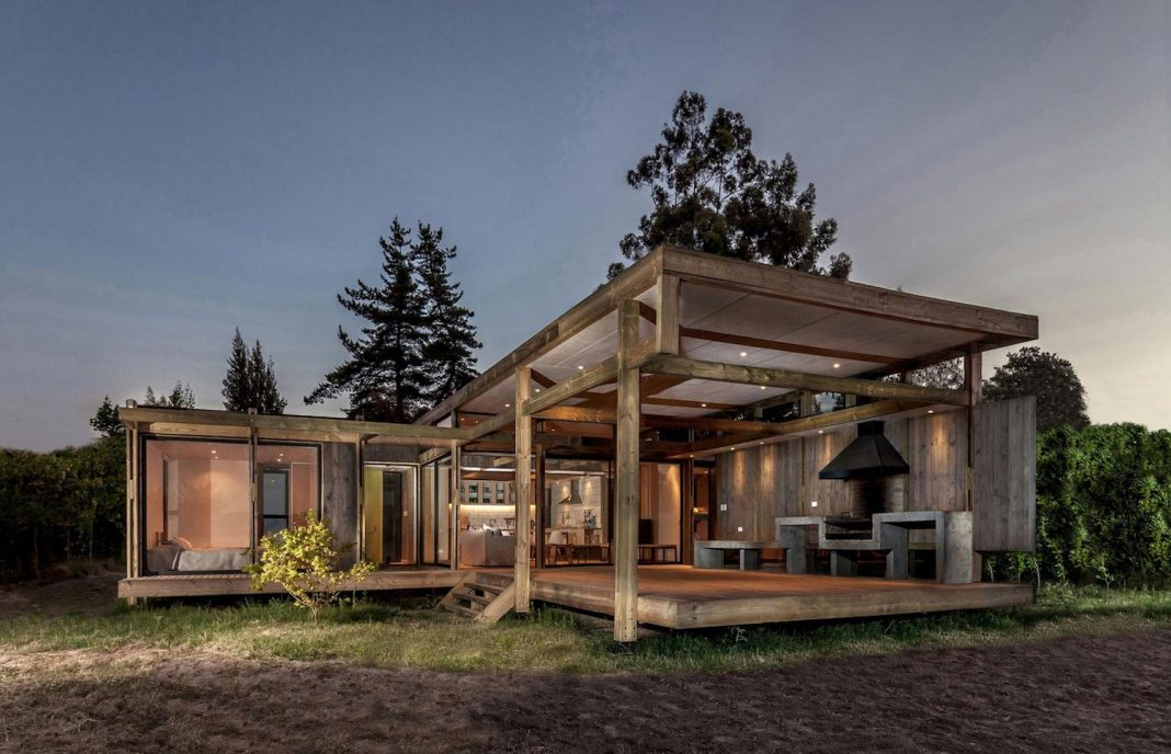 Home with lake view and a design that gives an aura of natural light