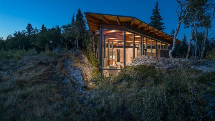 A hub of contemporary architecture set in the foothills of the Canadian Rocky Mountains