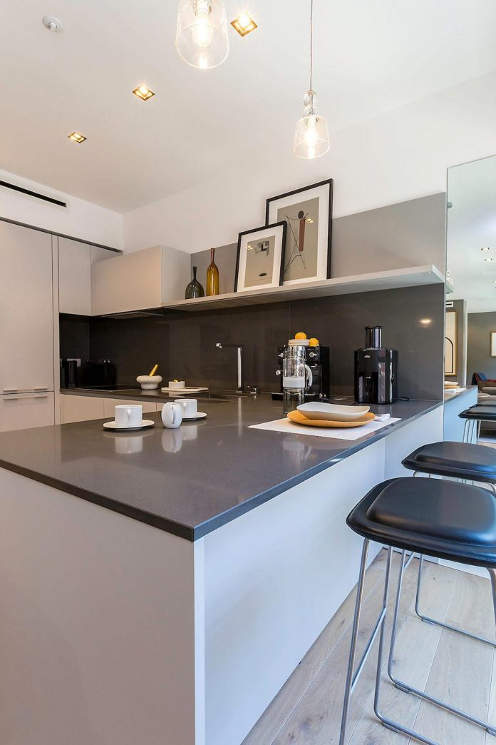 Inside A Contemporary Newly Refurbished Apartment In The