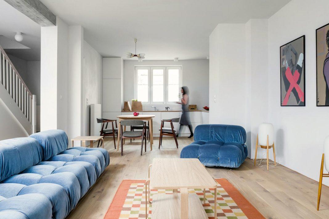 Loft Kolasiński Created A Fresh New Look Of A House From The 30S