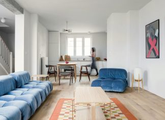 Loft Kolasiński created a fresh new look of a house from the 30s in Szczecin
