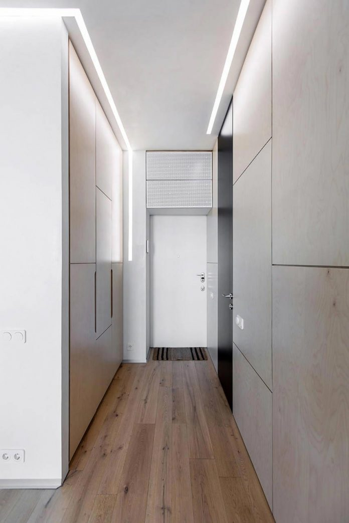 Minimalist Apartment For A Creative Couple In Moscow By