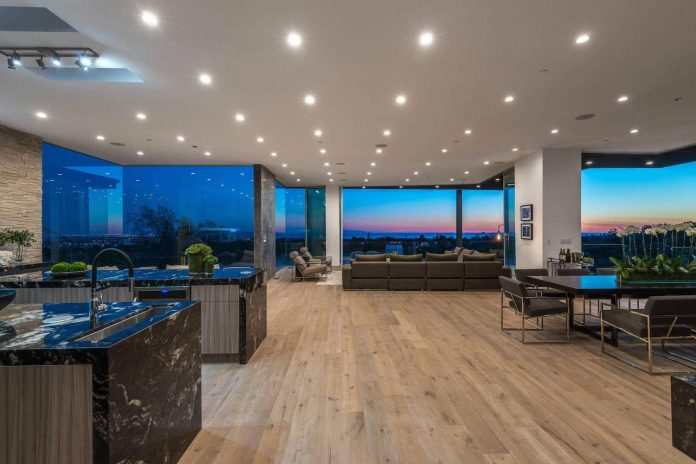 multi million home on the hills of los angeles has