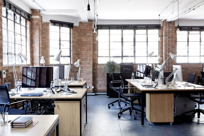 Refurbished workshop sympathetic to the original qualities of the building