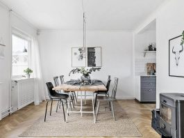Scandinavian home in Gothenburg designed by Perfection Makes Me Yawn