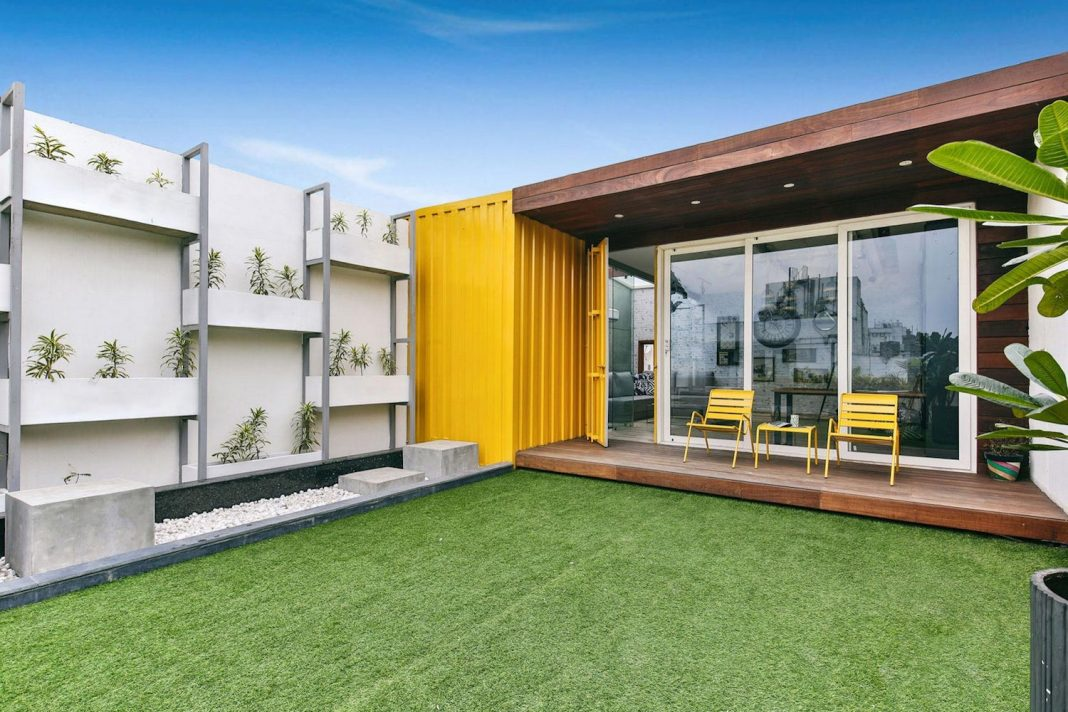 Shipping Container Home That Gives A Unique And Unusual