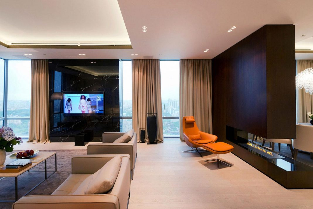 Stunning apartment in Moscow designed by Alexei Nikolashin