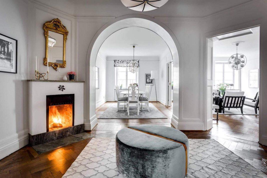 Velvet Puff By Dreamhouse Decorations: An Inspiring Scandinavian Apartment  Design