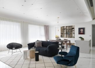 How to achieve the ultimate texture ratio and balance in the relationship between ceiling and floor