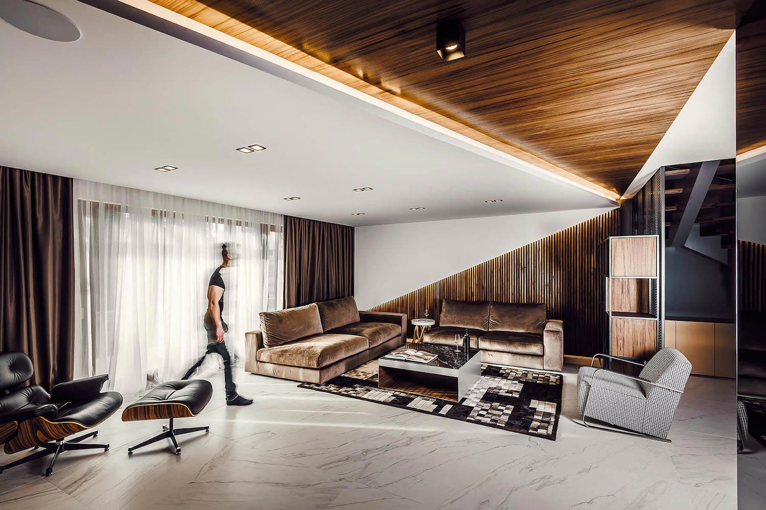Apartment Interior Design  Made Share Sophisticated Luxury Feeling Owners Caandesign 01