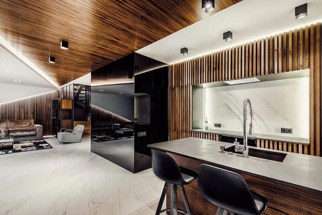 Apartment Interior Design Made To Share The Sophisticated And Luxury Feeling To The Owners