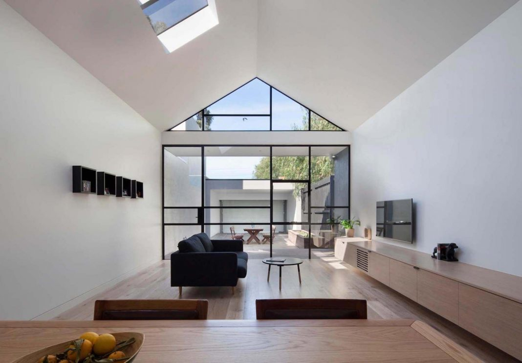 Burnley Residential Renovation Included An Industrial