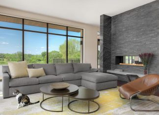 Californian lifestyle brought to this 11,000 square foot St. Louis home by Mitchell Wall