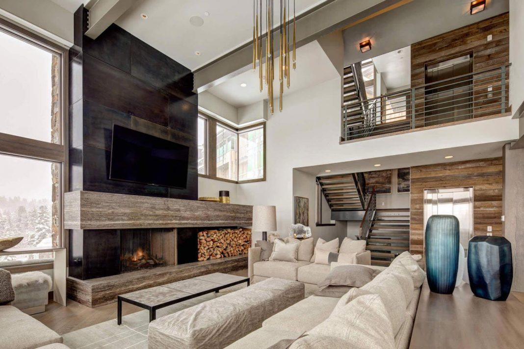 Contemporary Single Family Residence In Park City Utah By