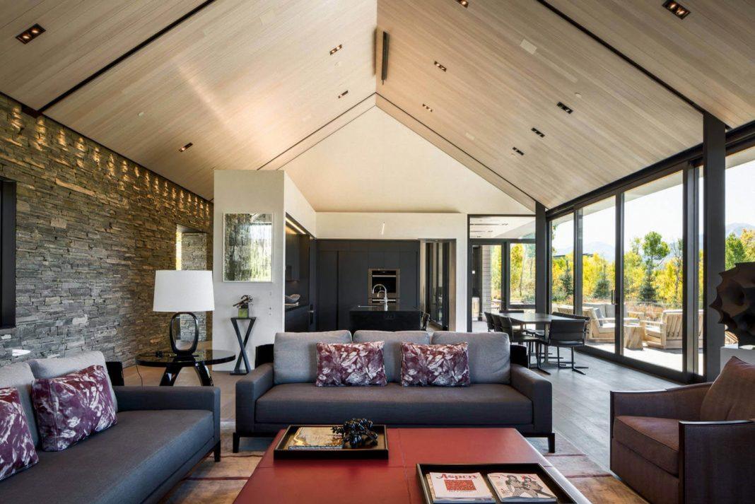 Design studio interior solutions has the signature for the for Aspen home design