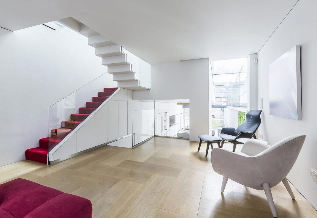 Flexible living spaces characterised by light and simplicity of this victorian residence designed by Your Architect London