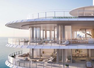 Inside Novak Djokovic's Miami penthouse in Eighty Seven Park by Renzo Piano