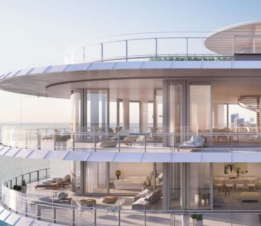 Inside Novak Djokovic's Miami penthouse in Eighty Seven Park by Renzo Piano