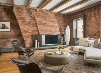 Loft designed for those interested in celebrating modern living in an authentic setting
