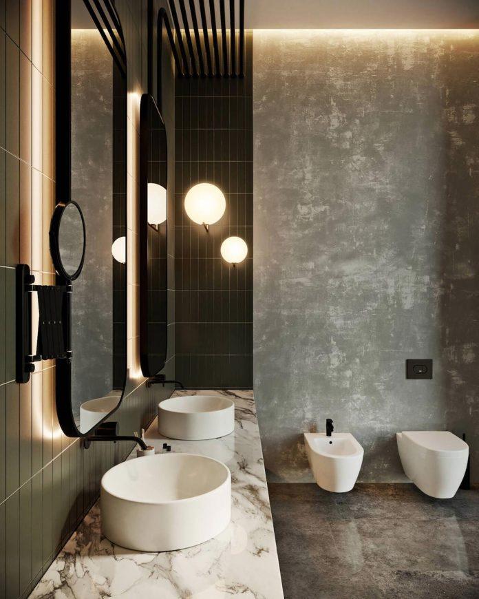Loft Apartment Decorating Glam