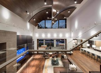 Modern two-storey oasis located in Naples, Florida by Stofft Cooney Architects
