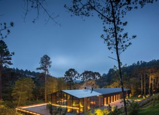 The Mororó house situated in a mountainous region allows a high degree of electric energy conservation