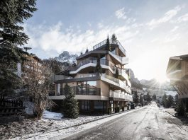 Where mountains becomes an abstract conceptual inspiration - Contemporary Tofana Hotel in San Cassiano