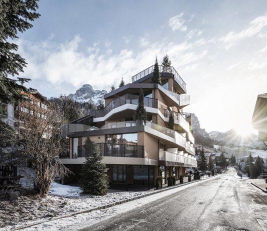 Where mountains becomes an abstract conceptual inspiration - Contemporary Tofana Hotel in San Cassiano