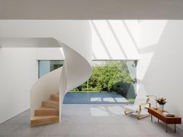 The rebuilding of a house into a space that encourages social interaction