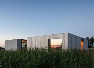 The setting of a family house which has a great impact on its design