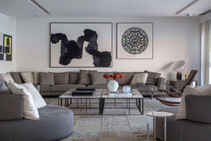 Two-Story stylish Delta Apartment in Rio de Janeiro by Gisele Taranto Arquitetura