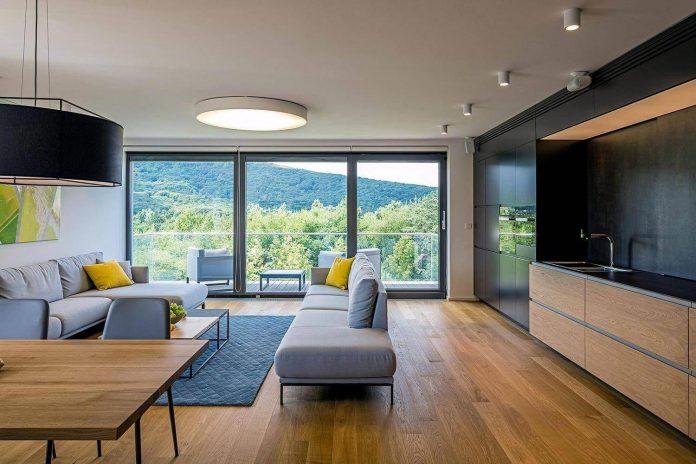 Villa vista large bright open space apartment in - Interior design open space ...