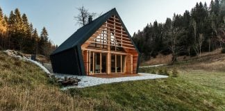 The Wooden House nationally awarded in 2016 for the best wooden construction in Slovenia