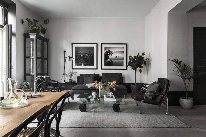 Fredrica Designed A Black Amp White Contemporary
