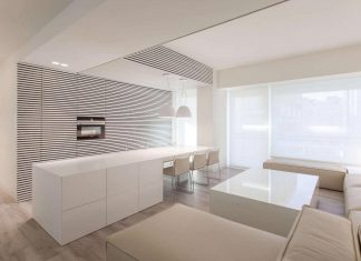 Andrea Trebbi designed a bright modern apartment in Riccione, Italy
