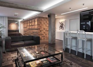 Apartment in Serbia designed for a young male in his 20s