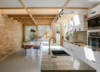 Arbour House: a usable kitchen and dining area with a good connection to the rear garden
